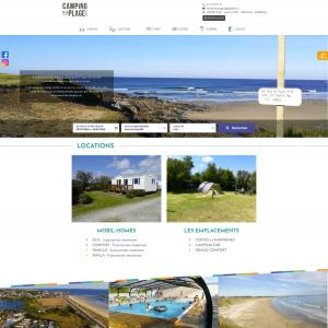 Camping de la plage Guidel