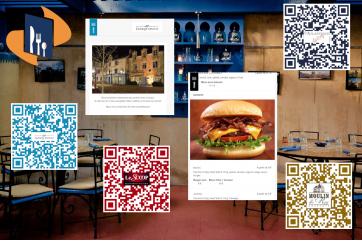 Votre carte de restaurant avec QR Code